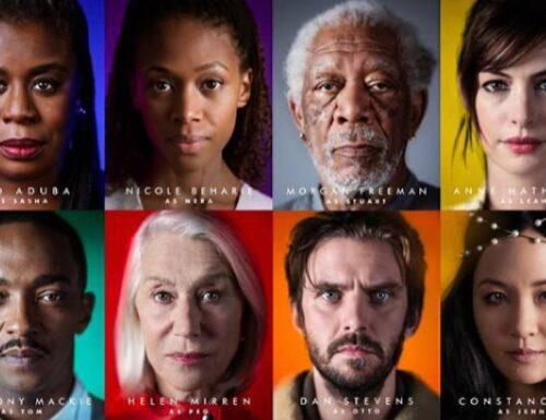 Solos – Amazon annuncia la premiere della serie con Morgan Freeman e Anne Hathaway