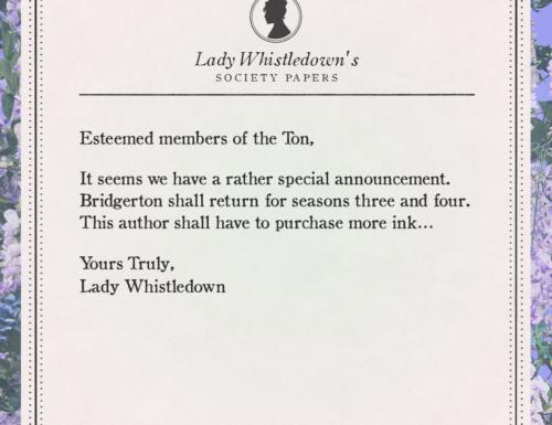 Bridgerton rinnovato per la stagione tre e quattro