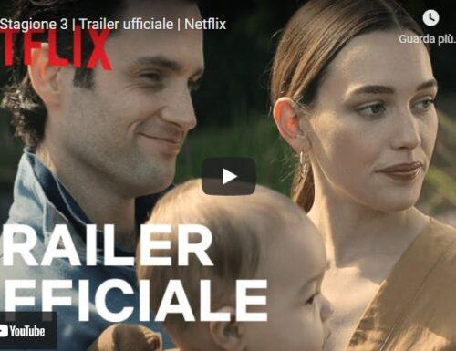 YOU – Ecco il trailer della terza stagione in arrivo ad ottobre su Netflix